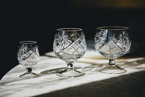Crystal「Three crystal glasses」:スマホ壁紙(17)