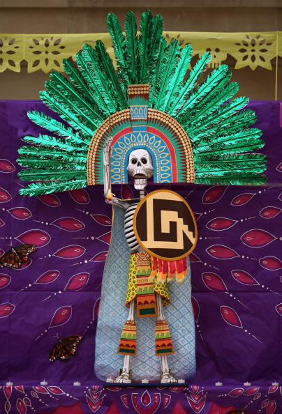 Architectural Feature「Specially Commissioned Altar is Displayed To Celebrate The Day Of The Dead」:写真・画像(16)[壁紙.com]