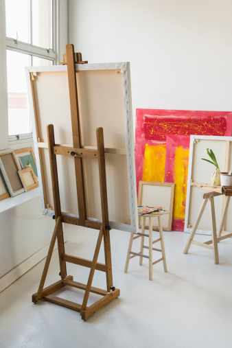 Masterpiece「Painter's studio」:スマホ壁紙(7)