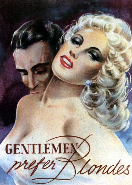 Two People「Gentlemen Prefer Blondes」:写真・画像(19)[壁紙.com]