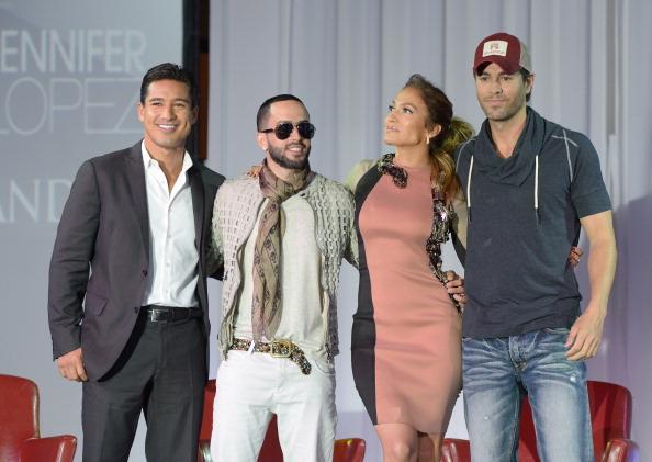 Enrique Iglesias - Singer「Enrique Iglesias, Jennifer Lopez And Wisin Y Yandel  Press Conference」:写真・画像(9)[壁紙.com]