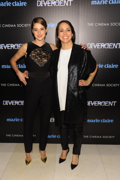 """Elie Saab - Designer Label「Marie Claire & The Cinema Society Host A Screening Of Summit Entertainment's """"Divergent"""" - Inside Arrivals」:写真・画像(5)[壁紙.com]"""