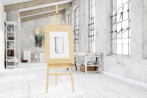 Tripod「Artist's Canvas in Creative Studio」:スマホ壁紙(3)