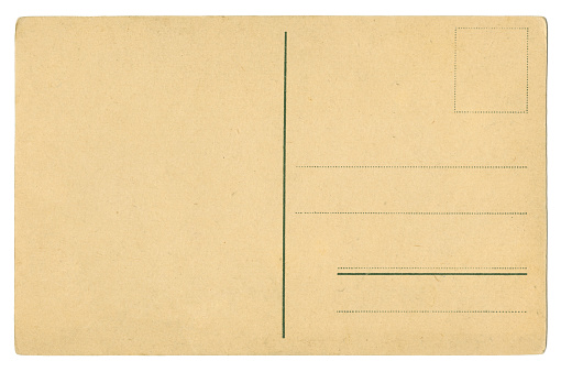 Sepia Toned「Back side of an old blank postcard XXXL size」:スマホ壁紙(13)