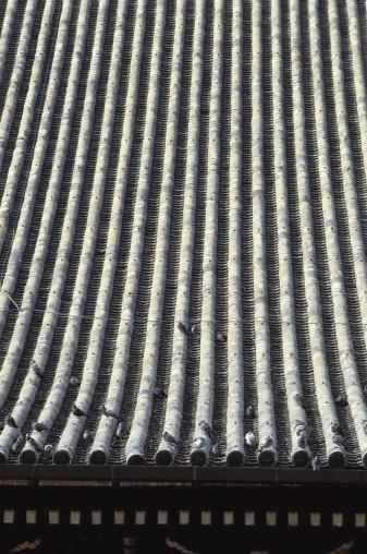 和柄「Roof of Higashi Honganji Temple, Kyoto Prefecture, Japan」:スマホ壁紙(9)