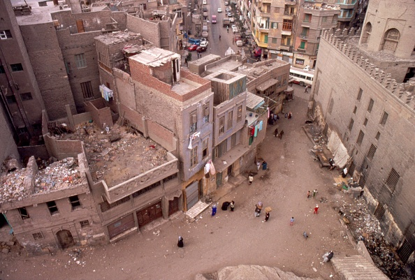 Incidental People「Cairo Streets Seen From Roof Of The Ibn Tulun Mosque」:写真・画像(4)[壁紙.com]