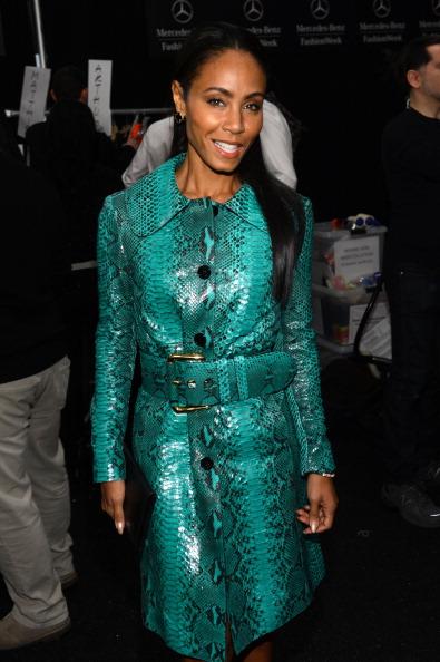 Leather Jacket「Michael Kors - Backstage - Fall 2013 Mercedes-Benz Fashion Week」:写真・画像(14)[壁紙.com]