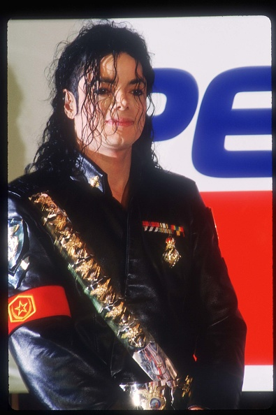 服装「Michael Jackson Appears At A Pepsi Press Conference」:写真・画像(17)[壁紙.com]