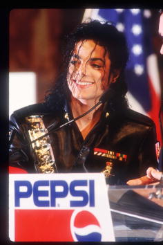 Pepsi「Michael Jackson Appears At A Pepsi Press Conference」:写真・画像(9)[壁紙.com]
