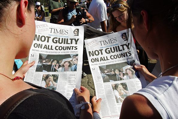 Legal Trial「Michael Jackson Found Not Guilty」:写真・画像(12)[壁紙.com]