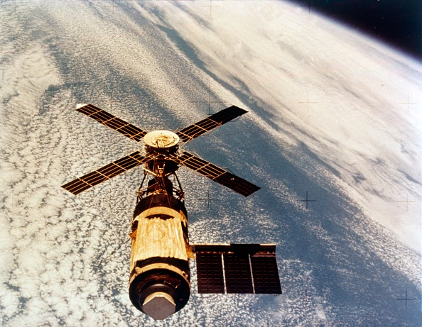 Space Exploration「Skylab In Orbit Above Earth At The End Of Its Mission」:写真・画像(7)[壁紙.com]