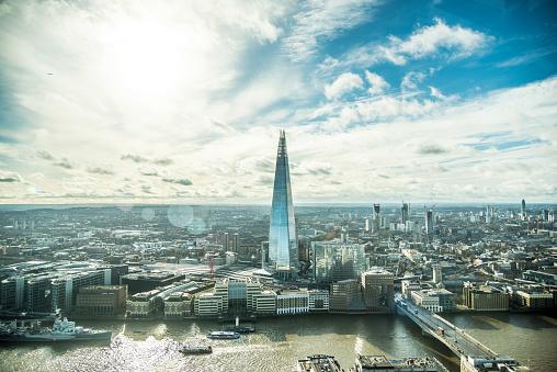 London Bridge - England「London Shard cityscape and skyline」:スマホ壁紙(14)