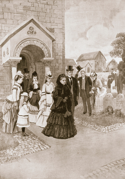 Place of Burial「Her Majesty At Whippingham Church' 1901」:写真・画像(13)[壁紙.com]