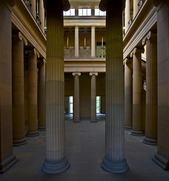 Architectural Feature「The Pillar Hall, Belsay Hall, Northumberland, 2009」:写真・画像(5)[壁紙.com]