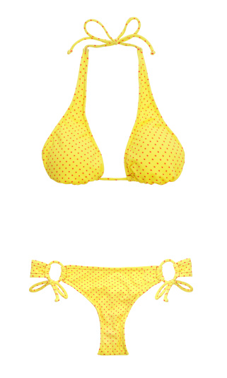 Polka Dot「Bikini on White」:スマホ壁紙(3)