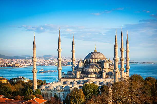 Blue Mosque in Istanbul:スマホ壁紙(壁紙.com)