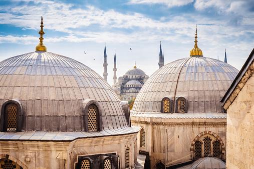 Istanbul「Blue Mosque And Aya Sofya, Istanbul」:スマホ壁紙(8)