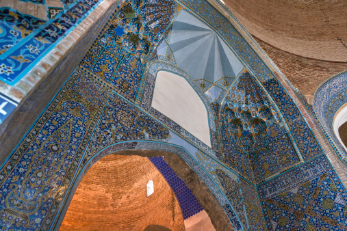 Iranian Culture「Blue Mosque or Masjidi Qebud Mosque in Tabriz」:スマホ壁紙(4)