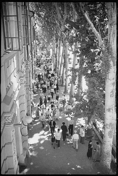 Max Penson「Karl Marx Street In Tashkent」:写真・画像(13)[壁紙.com]