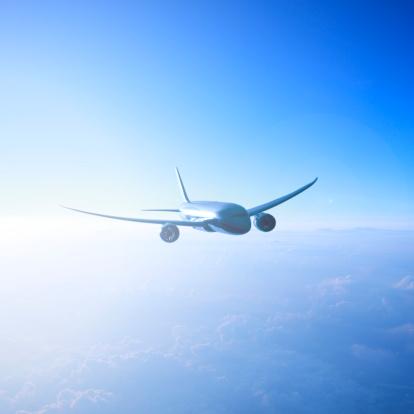 飛行機「An airplane.」:スマホ壁紙(9)
