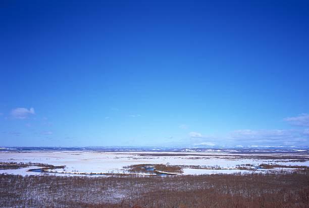 Kushiro marshland, Hokkaido, Japan:スマホ壁紙(壁紙.com)