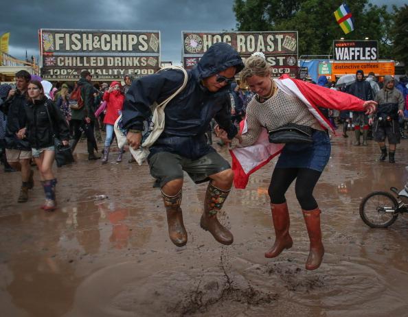 Festival Goer「Festival Goers Enjoy Glastonbury 2014」:写真・画像(12)[壁紙.com]