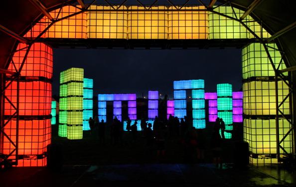 Worthy Farm「Music Fans Arrive For The Glastonbury Festival」:写真・画像(3)[壁紙.com]