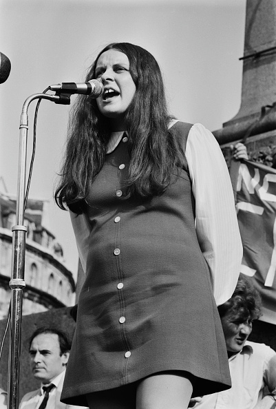 One Woman Only「Bernadette Devlin」:写真・画像(3)[壁紙.com]