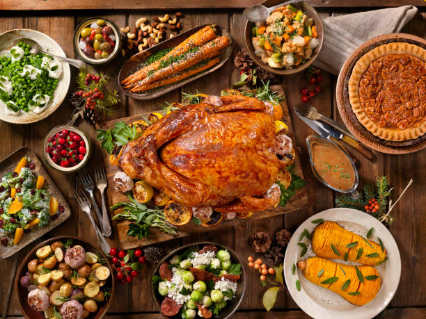 Holiday Turkey Dinner:スマホ壁紙(壁紙.com)