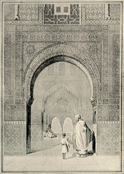 Alhambra - Spain「View In The Hall Of The Two Sisters」:写真・画像(12)[壁紙.com]