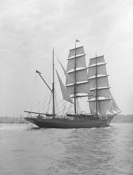 Cutting「The 135 Ft Barque Sailing Ship Modwena」:写真・画像(18)[壁紙.com]
