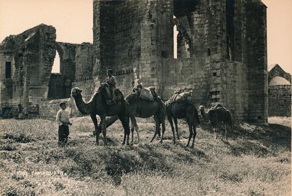 Republic Of Cyprus「Carmelite and Armenian churches at Martinengo Bastion, Famagusta, Northern Cyprus, 1936」:写真・画像(8)[壁紙.com]