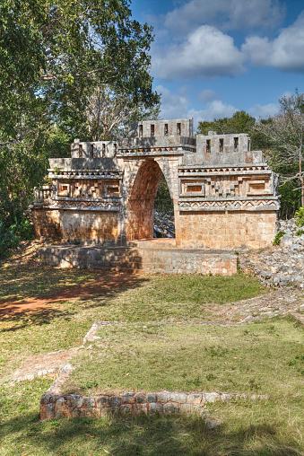High Dynamic Range Imaging「The Arch, Labna, Mayan Ruins」:スマホ壁紙(10)