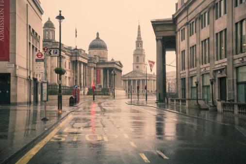 Wet「Deserted London 06」:スマホ壁紙(19)