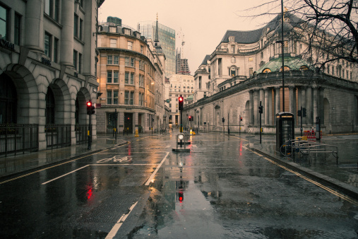 Empty Road「Deserted London 01」:スマホ壁紙(6)