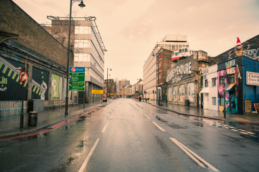 Road Marking「Deserted London 03」:スマホ壁紙(14)