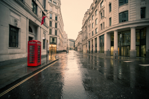 Rain「Deserted London 02」:スマホ壁紙(2)