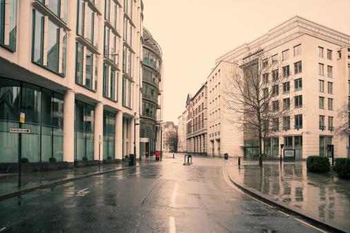 City Life「Deserted London 04」:スマホ壁紙(9)