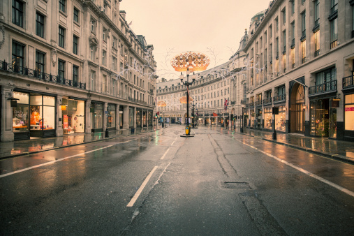 Empty Road「Deserted London 07」:スマホ壁紙(2)