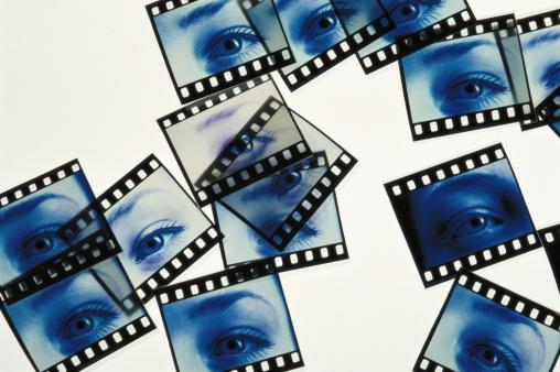 Iris - Eye「Film reels of human eye」:スマホ壁紙(8)