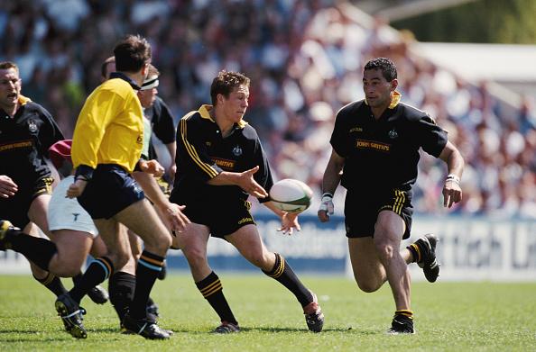 Johnny Wilkinson「Jonny Wilkinson and Pat Lam Newcastle Falcons Falcons 1998」:写真・画像(6)[壁紙.com]