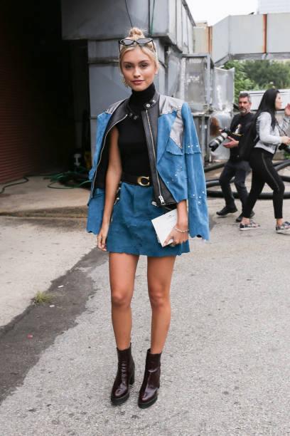 Street Style - New York Fashion Week September 2018 - Day 7:ニュース(壁紙.com)