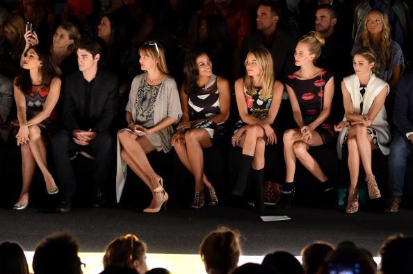 Front Row「Desigual - Front Row - Mercedes-Benz Fashion Week Spring 2015」:写真・画像(17)[壁紙.com]