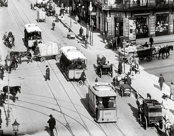Horse railroads in the Leipzigerstreet:ニュース(壁紙.com)