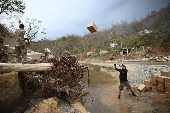 Daniel Gi「Puerto Rico Faces Extensive Damage After Hurricane Maria」:写真・画像(0)[壁紙.com]