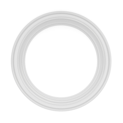 Moulding - Trim「3d white classical frame」:スマホ壁紙(5)