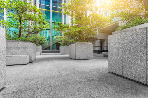 Public Park「green of office area in hong kong」:スマホ壁紙(10)