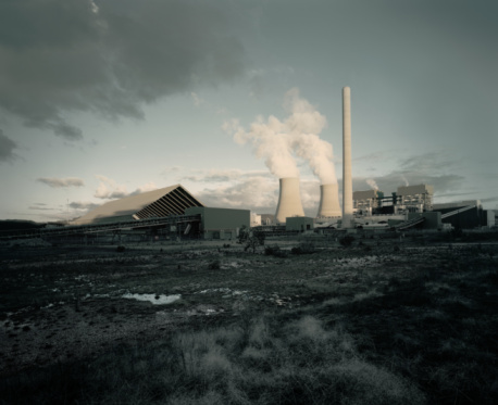 Emitting「Coal fired power station」:スマホ壁紙(17)