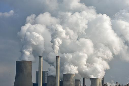 Smoke - Physical Structure「Coal fired power station Niederaussem, Niederaussem, Bergheim district, North Rhine-Westphalia, Germany」:スマホ壁紙(1)