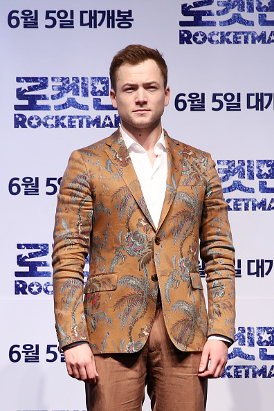 Tropical Pattern「'Rocketman' South Korea Premiere - Press Conference/Photo Call」:写真・画像(4)[壁紙.com]